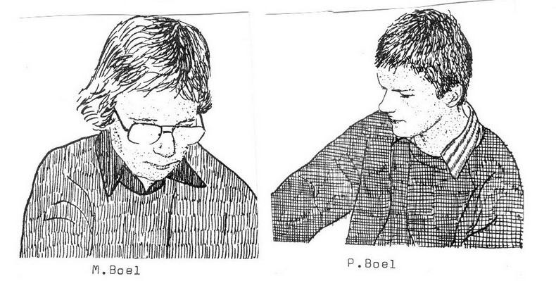 Marcel Boel, Peter Boel