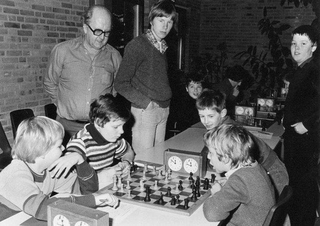 Jan Diekmann met pupillen