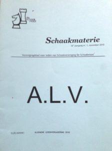 Schaakmaterie-ALV