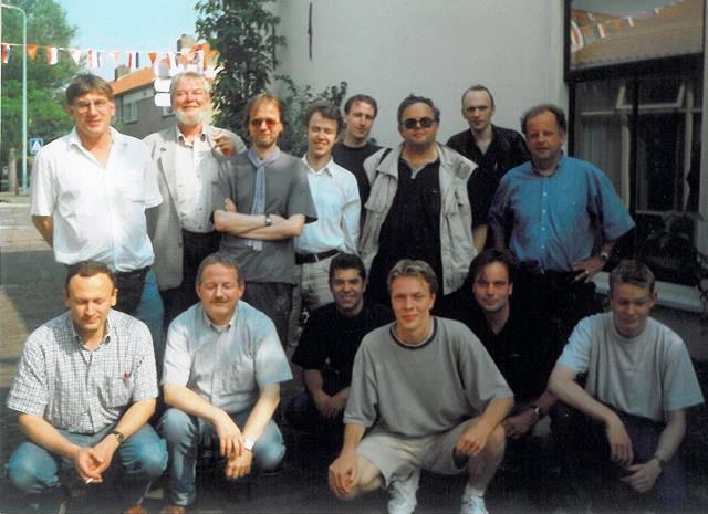 Teamfoto seizoen 1999-2000