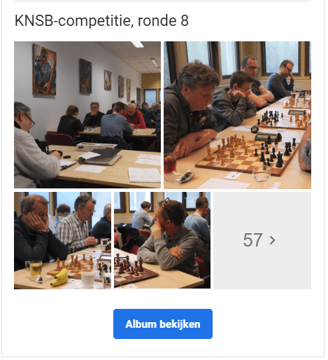 KNSB-competitie, ronde 8