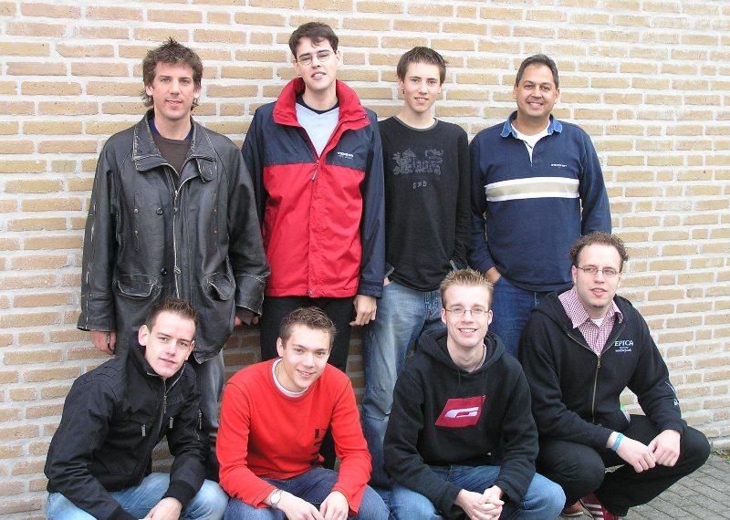 Teamfoto De Schaakmaat 2005-2006